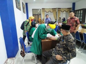 Sebelum Ke Jakarta, 20 Anggota DPRD Mesuji Lakukan Rapit Tes Covid-19