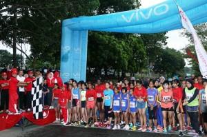 Marathon Krakatau 10K, Lebih Dari Dua Ribu Pelari Ambil Bagian