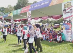 Deklarasi Pujo, Warga Lamteng Siap Menangkan Jokowi-Ma'ruf