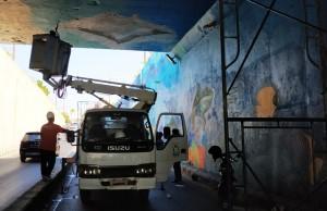Senimal Mural Lampung Apresiasi PU Bandarlampung