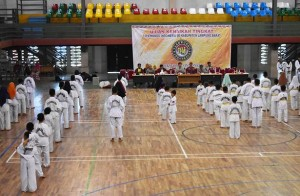 KONI Lambar Pantau Pembinaan Atlet Taekwondo