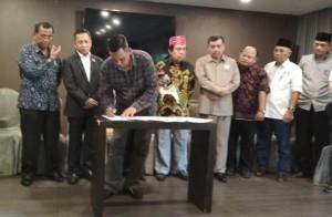 Sejumlah Tokoh Di Lampung Beri Pernyataan Sikap