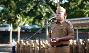 Pegawai Di Pemkab Lamsel Diminta Tingkatkan Disiplin Kerja
