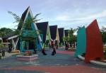 Bangunan Pasar Seni Jadi Spot Selfi Melinial Bandarlampung