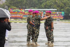Gantikan Fajar, Nawawi Jadi Danbrigif 4 Marinir BS