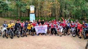 Komunitas Sepeda Gowes Alam PTPN VII Unit Waylima