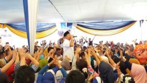Relawan Mustafa Di Kecamatan Wayhalim Diberi Pembekalan