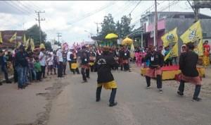 Parade Budaya Warnai Deklarasi Pujo Lampung Tengah