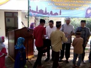 Safari Ramadan Di Waylima,  PTPN VII Santuni Anak Yatim