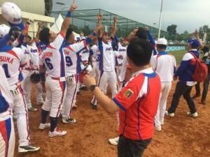 Tim Bisbol Siap Hapus Mitos Peringkat Kedua
