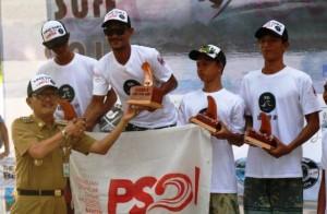 Krui Surf 2019, Atlet Lampung Dominasi Gelar Juara