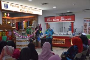 Produk UMKM Kota Metro Dipasarkan Di Chandra Supermarket