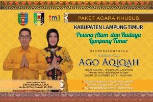Lampung Timur Akan Gelar Festival Budaya Di Taman Mini Jakarta