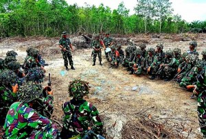 258 Marinir Brigif 4 Piabung Ikut Latihan Di Belitung