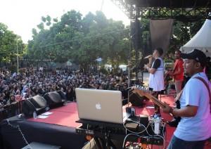 Ratusan Pelajar Meriahkan Smanda Music Party 2019