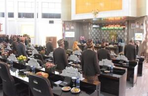 HUT Provinsi Lampung Ke 55, DPRD Waykanan Gelar Rapat Paripurna Istimewa