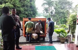 Logistik Ujian Nasional SMP Tiba Di Tanggamus