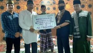 Lazis PTPN VII Bantu Renovasi Musala Tamansari