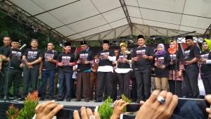 Cagub Lampung Komitmen Wujudkan Pilkada Bersih 2018