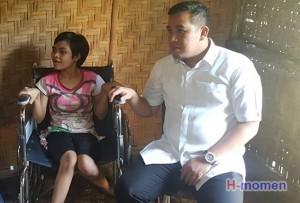 Dendi Minta Dinkes Bantu Pengobatan Penderita Cerebral Palsy