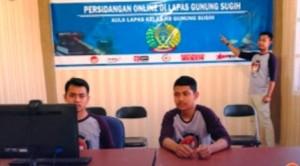 Lapas Gunungsugih Siap Laksanakan Persidangan Secara Online