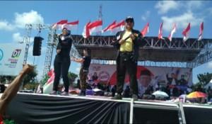 Kompak Kampanyekan Jokowi, Arinal-Nunik Suarakan Stop Impor Singkong