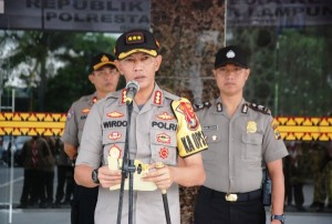 Saka Bhayangkara Polresta Bandarlampung Juara Umum Pertikara 2019