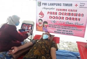 Korpri Lamtim Gelar Donor Darah