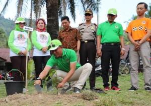Bupati Lambar Canangkan Program Kabupaten Tangguh Bencana