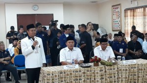 Mustafa-Jajuli Pendaftar Pertama Pilgub Lampung 2018