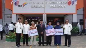 IPC Panjang Beri Bantuan Renovasi Rumah Untuk Pahlawan