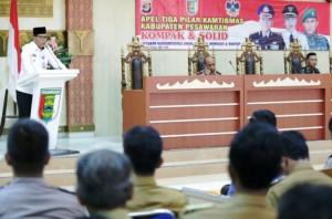 Sosialisasi Dana Desa, Pemkab Pesawaran Rangkul Kepolisian