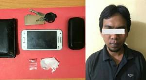 Polisi Gagalkan Transaksi Narkotika Di Metro