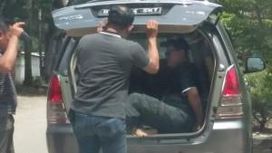Polisi OTT Tiga Oknum Wartawan Di Pesawaran