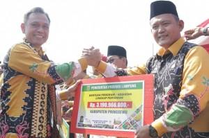 Pringsewu Dapat Bantuan Rp3,19 Miliar Untuk Pertanian Dari Pemerintah Provinsi