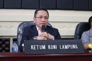 YSB: KONI Lampung Tidak Boleh Disusupi Politik