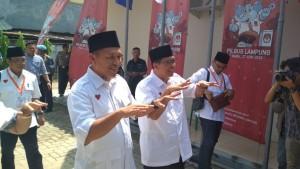 Sajikan Yel Kece, Mustafa Aja Tiba Kedua Di KPU Lampung