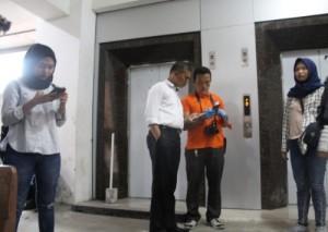 Polresta Selidiki Kasus Lift Yang Terjatuh
