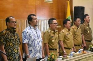 Pemkab Lamtim Komitmen Dukung Pencegahan Korupsi