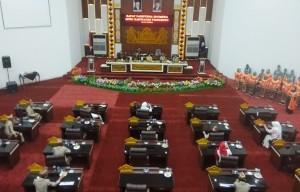 DPRD Pringsewu Gelar Rapat Paripurna LKPj