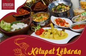 Sambut Idul Fitri, Hotel Emersia Sajikan Paket Ketupat Lebaran