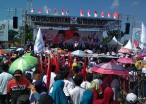 Yuhadi Ingatkan Warga Sribhawono Soal Aturan Kampanye