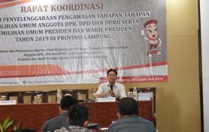 Kinerja Jajaran Bawaslu Lampung Dievaluasi