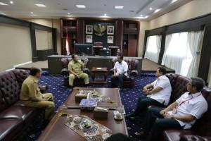 Wujudkan Lampung Berjaya, PT Semen Baturaja Siap Bersinergi Dengan Gubernur