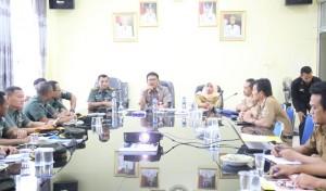 Mabes TNI Kunjungi Koramil Pesisir Barat