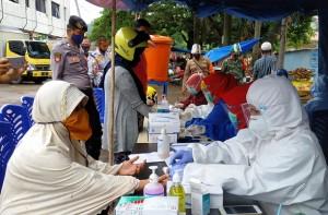 Rapid Tes Di Bandarlampung, Dua Orang Reaktif