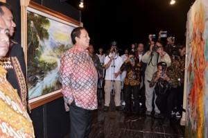 Gubernur Wacanakan Pembangunan Lokasi Pameran Lukisan Di PKOR