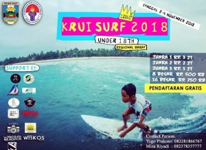 Kemenpora Gelar Kejuaraan Surfing U-18 Di Pesisir Barat