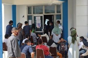 Ajukan Rapid Test, Ratusan Warga Mengantri Di Dinkes Lampung