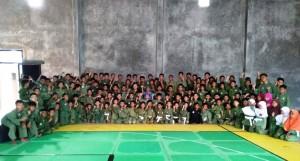 Ratusan Pesilat Ikuti UKT Di Bandarlampung